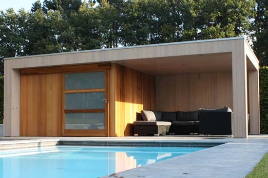 poolhouse Tongeren